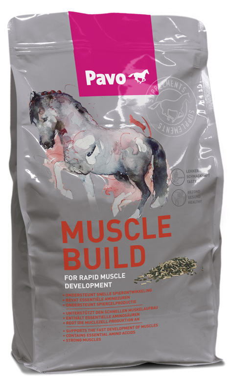 Pavo MuscleBuild caballos