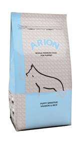 Arion Puppy Sensitive Salmon&Rice 3kgs