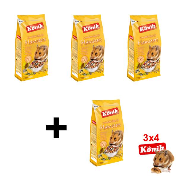 Pienso Hamsters OFERTA 3×4