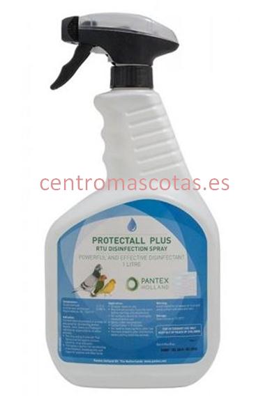 Desinfectante Jaulas Protectall Plus spray 1000ml